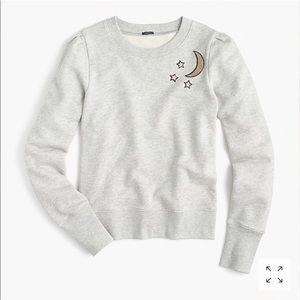 JCrew Celestial Sweatshirt nwot